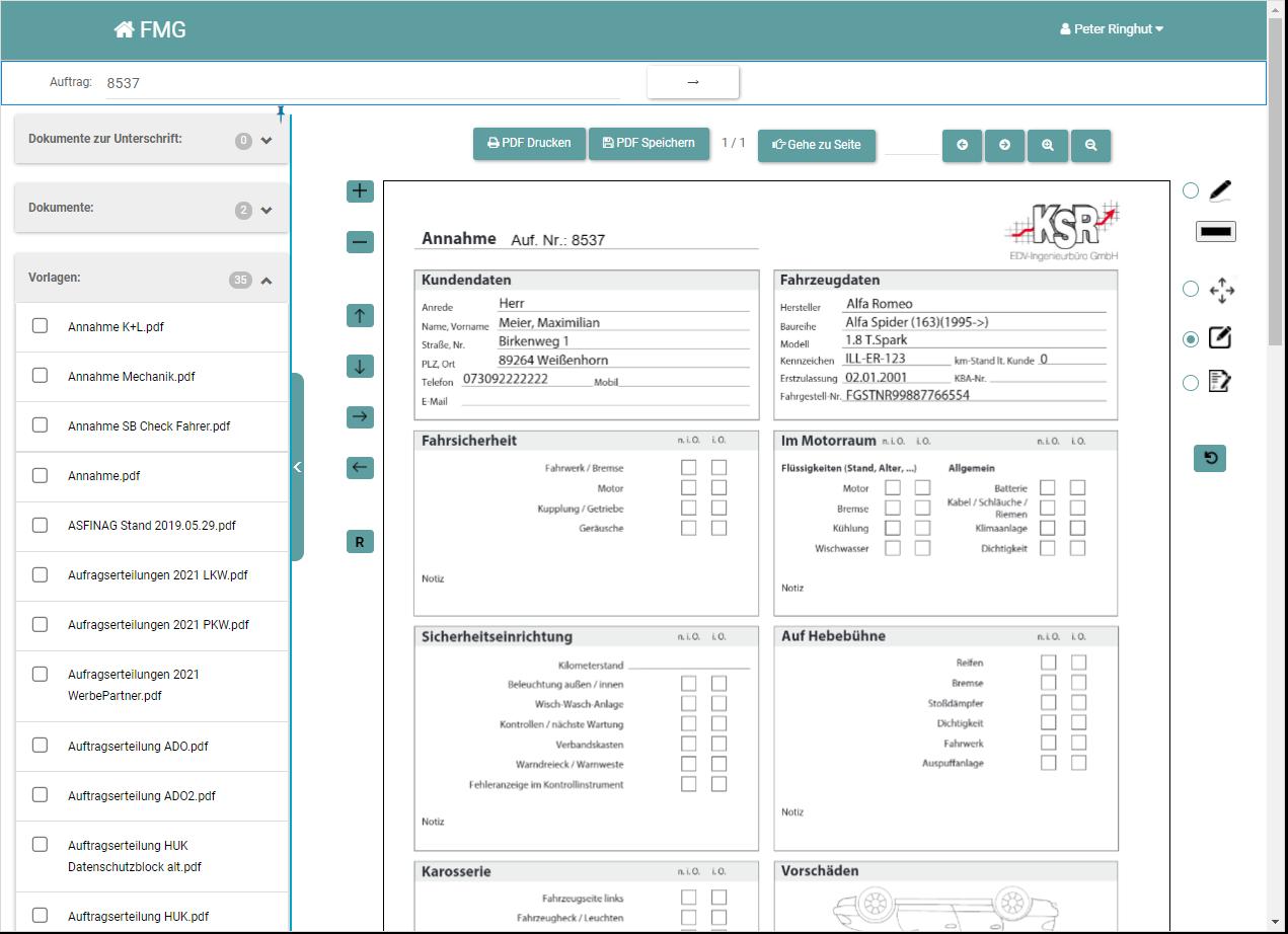 So geht digitales Formularmanagement im K+L-Fachbetrieb: papierlos, einfach, browserbasiert und effektiv.